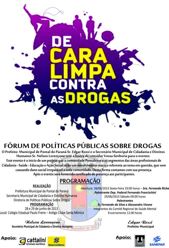 Cartaz da Prefeitura