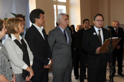 Gov. Beto Richa recebe visita do Prefeito de Paranaguá