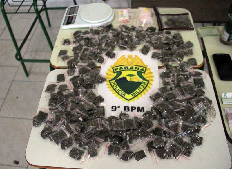 20-02-2017 Apreensão de drogas em Pontal do Paraná.
